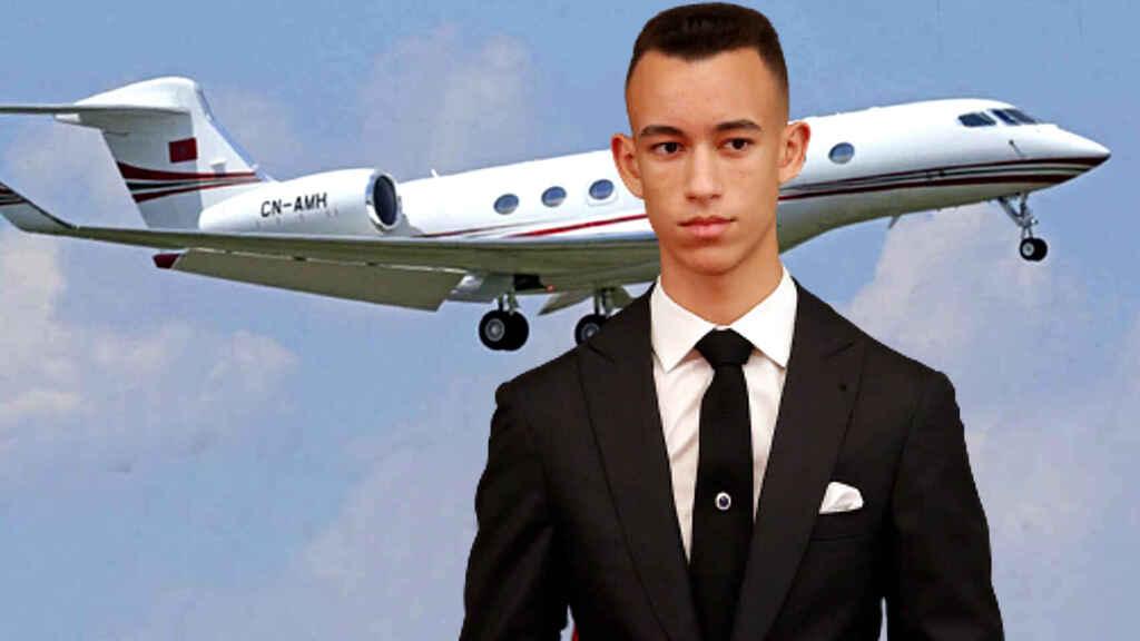 La polémica que persigue a Moulay Hassan desde los 15 años: la verdad de su lujoso jet privado