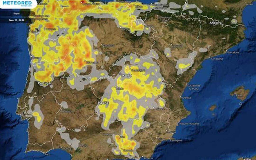La DANA ya está aquí: así barrerá España con fuertes tormentas, viento y granizo