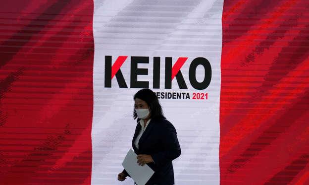 La Fiscalía de Perú pide prisión para Keiko Fujimori por el 'caso Odebrecht' en plena pugna por las presidenciales