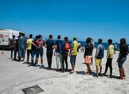 La iniciativa de Cs llevará al Parlamento a posicionarse sobre el uso de menores en la crisis de Ceuta