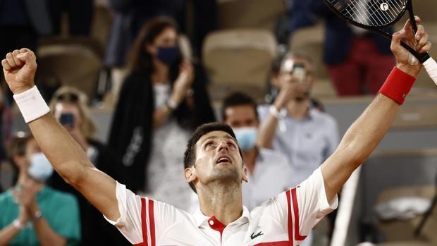 Así queda el ranking de Grand Slams tras la victoria de Djokovic en París