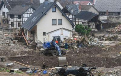 Viaje a la zona cero de las inundaciones en Europa