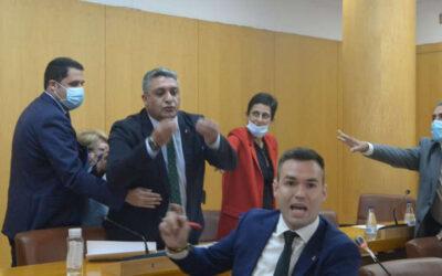 La Asamblea de Ceuta volverá a reunirse el jueves con la declaración de indeseable a Abascal en el Orden del Día
